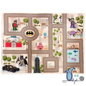 Batman baby play mat