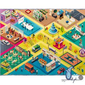 store play mat